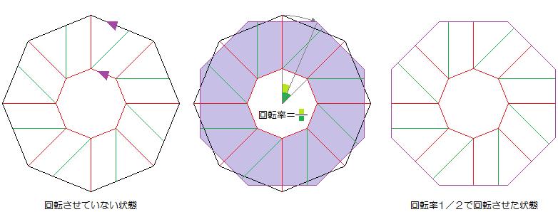 すべての折り紙 折り紙 リース 立体 : 製図:日々の楽しみ:So-net ...
