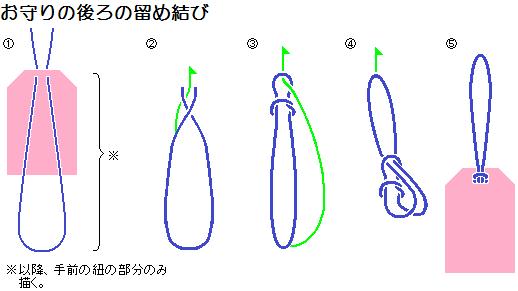 折り紙 折り紙 作り方 箱 : knots-後ろの留め結び.png